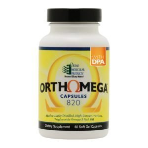 OrthoMega Fish Oil 60 ct